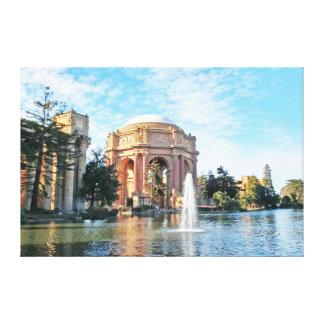 Impressão Em Tela Palácio das belas artes - San Francisco