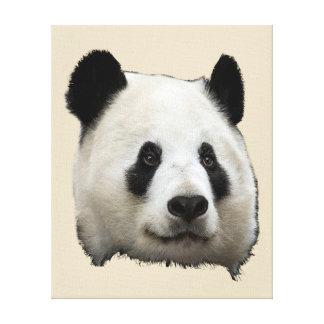 Impressão Em Tela Panda