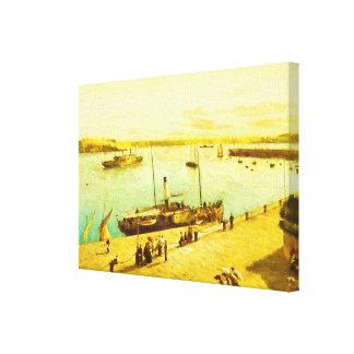 Impressão Em Tela Parasóis do porto