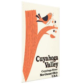 Impressão Em Tela Parque nacional do vale de Cuyahoga