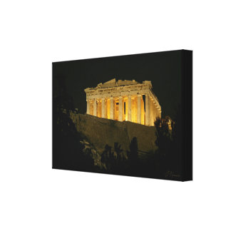 Impressão Em Tela Partenon 2
