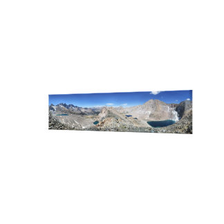 Impressão Em Tela Passagem da guarda florestal e bacia do centro -