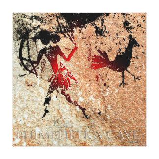 Impressão Em Tela Pássaro de Bhimbhetka e o arqueiro