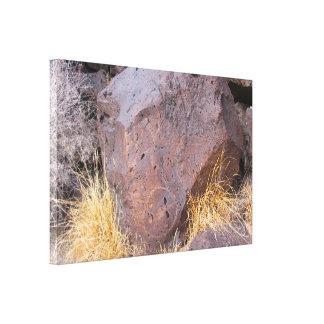 Impressão Em Tela Petroglyph de pedra natural