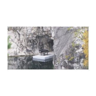 Impressão Em Tela Piano na garganta de mármore (parque da mineração