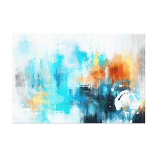Impressão Em Tela Pintura abstrata