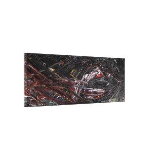 Impressão Em Tela Pintura abstrata do elemento