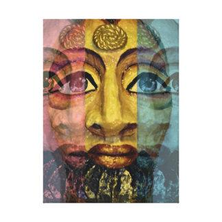 Impressão Em Tela Pintura bonita da deusa egípcia