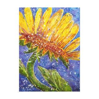 Impressão Em Tela Pintura da aguarela do girassol por Kathleen