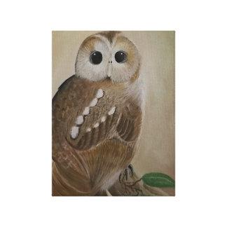 Impressão Em Tela Pintura da coruja