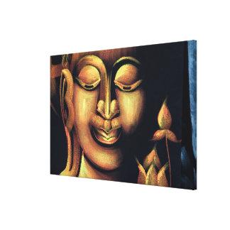 Impressão Em Tela Pintura de Buddha