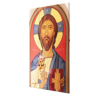 Impressão Em Tela Pintura de Jesus