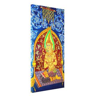 Impressão Em Tela Pintura histórica do templo