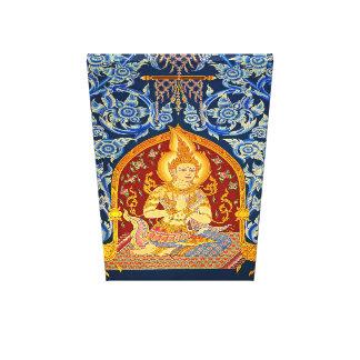 Impressão Em Tela Pintura histórica do templo da arte da parede