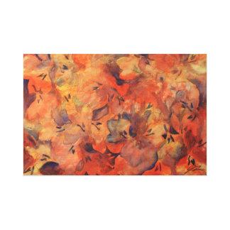 Impressão Em Tela Pintura original da expressão floral por Jess