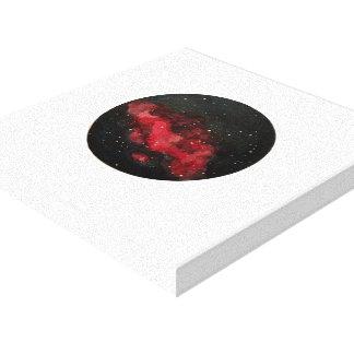 Impressão Em Tela Pintura original da galáxia (aguarela)