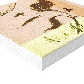 Impressão Em Tela Plante os trabalhos de arte (12 X12) 30,5 cm x