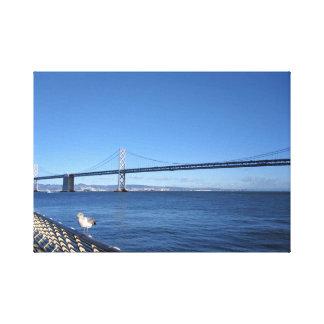 Impressão Em Tela Ponte de San Francisco Bay
