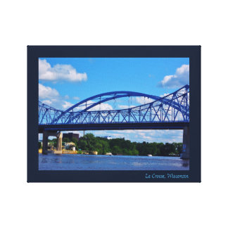 Impressão Em Tela Ponte do rio Mississípi