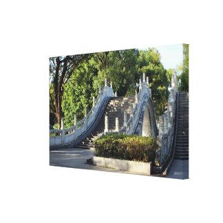 Impressão Em Tela Pontes dobro, Guilin, China