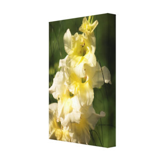 Impressão Em Tela Ponto amarelo da flor do tipo de flor