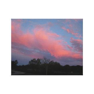 Impressão Em Tela Por do sol em Tennessee