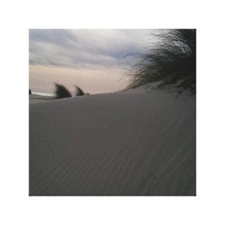 Impressão Em Tela Por do sol na praia de Porto Pino