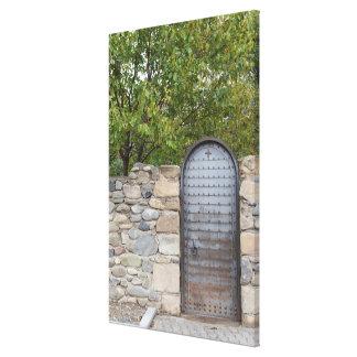 Impressão Em Tela Porta e parede do metal