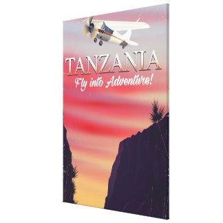 Impressão Em Tela Poster africano do vôo de Tanzânia