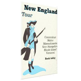 Impressão Em Tela Poster das viagens vintage da excursão de Nova