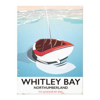 Impressão Em Tela Poster das viagens vintage de Northumberland da