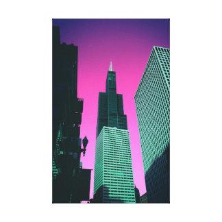 Impressão Em Tela Poster de Chicago