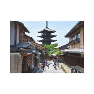 Impressão Em Tela Poster de Kyoto Gion Japão
