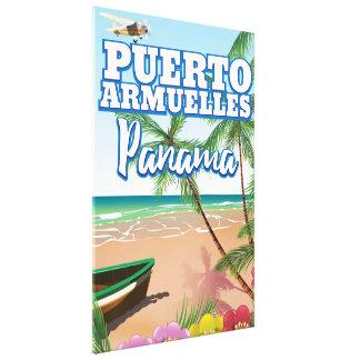 Impressão Em Tela Poster de viagens das férias de Puerto Armuelles