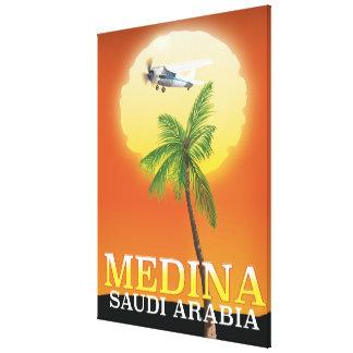 Impressão Em Tela Poster de viagens de Medina Arábia Saudita