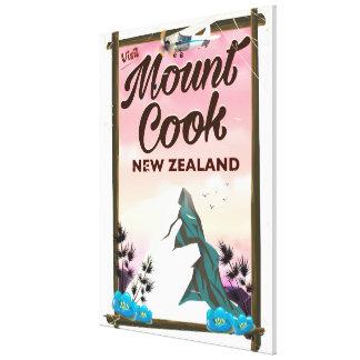 Impressão Em Tela Poster de viagens de Nova Zelândia do cozinheiro