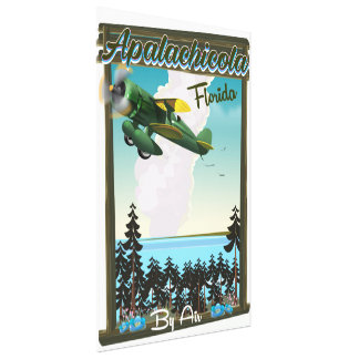 Impressão Em Tela Poster do vôo de Florida da floresta nacional de