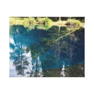 Impressão Em Tela Pouco lago crater