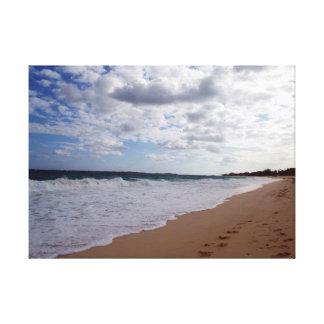 Impressão Em Tela Praia de Nassau