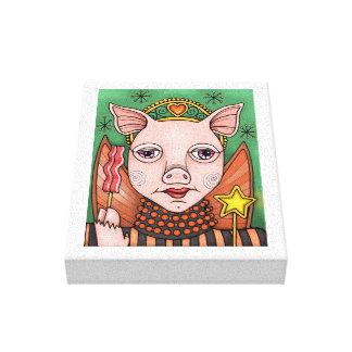 Impressão Em Tela Princesa feericamente Cor Projeto do bacon