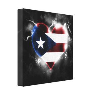 Impressão Em Tela Puerto Rico poderoso