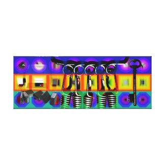 Impressão Em Tela Quadros psicadélicos 2 C do pop do projeto do GMT