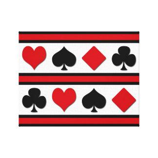 Impressão Em Tela Quatro ternos do cartão
