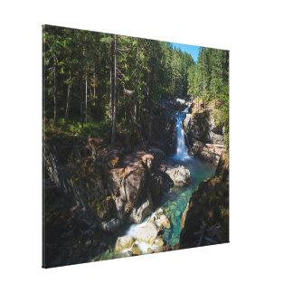 Impressão Em Tela Quedas da prata, parque nacional de Monte Rainier