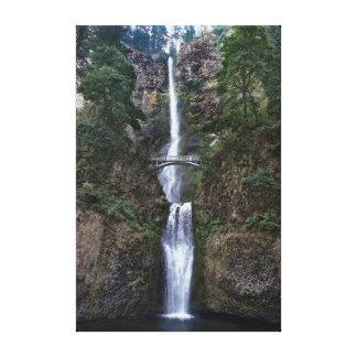 Impressão Em Tela Quedas de Multnomah, Oregon
