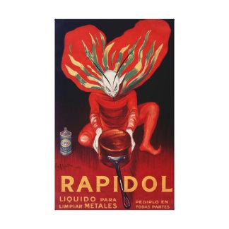 Impressão Em Tela Rapidol, poster de observação espanhol polonês do