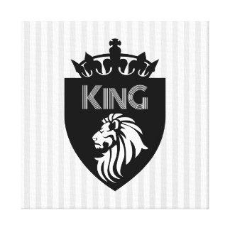 Impressão Em Tela Rei cristão dos reis Leão