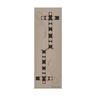 Impressão Em Tela Relógio do ~ de Shiva da canela sobre mim