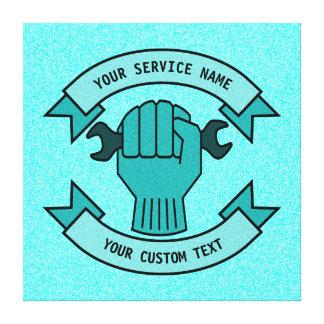 Impressão Em Tela Repare o serviço do canalizador do técnico do