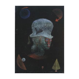 Impressão Em Tela Retrato astrológico da fantasia de Paul Klee